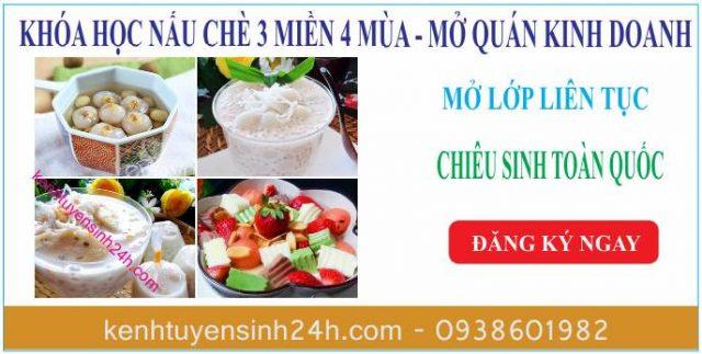 Khóa học nấu chè tại Hà Nội