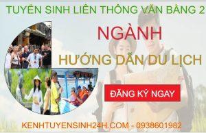 Liên thông văn bằng 2 ngành Hướng dẫn du lịch tại Hà Nội