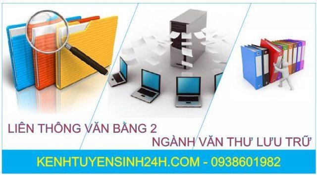 Liên thông văn bằng 2 ngành văn thư lưu trữ học tại Hà Nội
